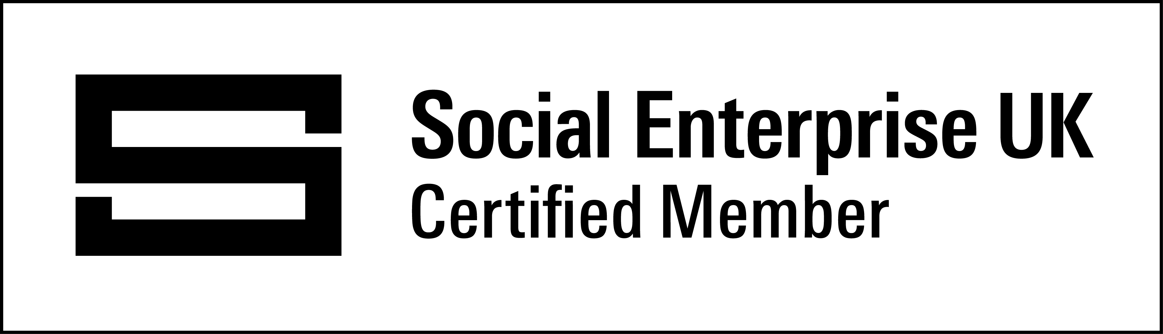 Social Enterprise UK Member Certified Small Black